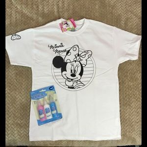 Paintable Minnie Mouse shirt